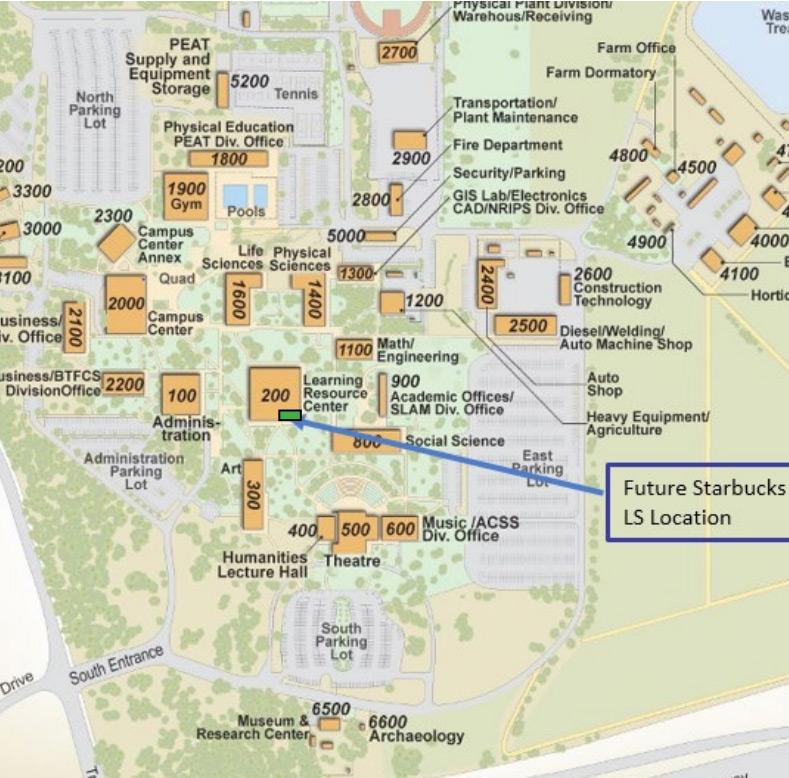 Shasta College Gets A Starbucks Aztec Construction Restoration